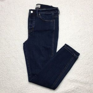 Free People High Rise Skinny Ankle Jean Size 28